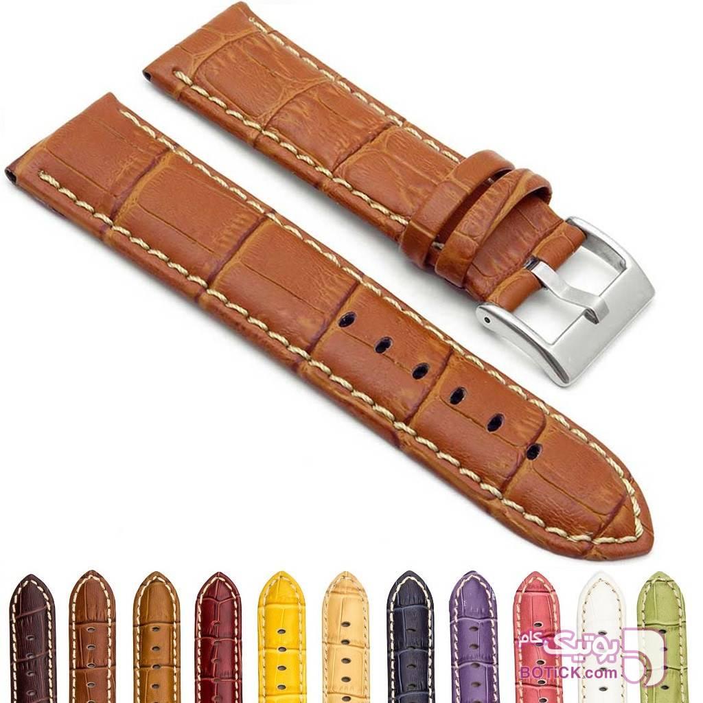 بند چرمی ساعت مچی بنفش دستبند و پابند