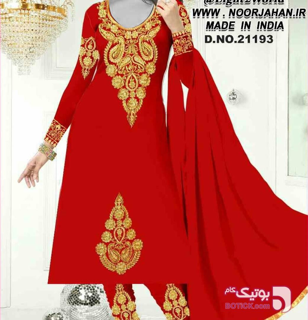 لباس هندی  بنفش لباس  مجلسی