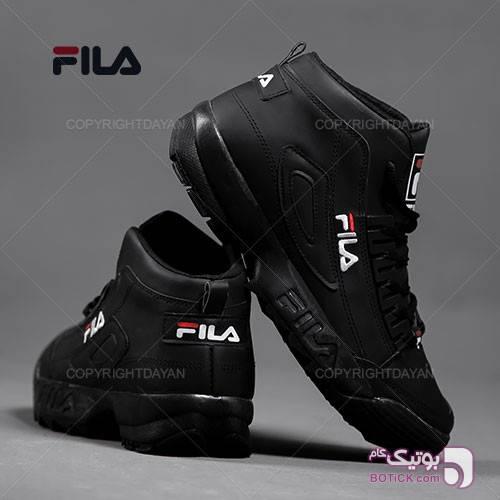 ساقدار مردانه Fila مدل F1309 (تمام مشکی) مشکی كفش مردانه