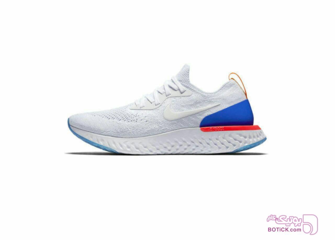 NIke React flyknit سفید کفش ورزشی