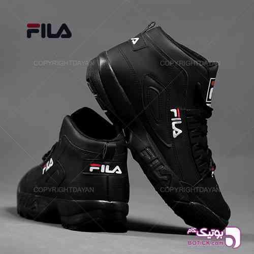 ساقدار مردانه Fila مدل F1309 (تمام مشکی) - كفش مردانه