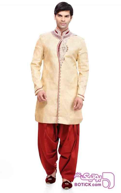 لباس مردانه هندی کرم 97 2018