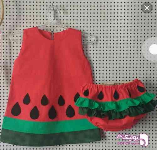 شب یلدایی - لباس کودک دخترانه