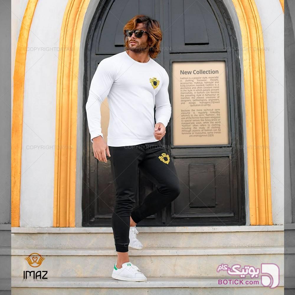 ست تیشرت شلوار Imaz سفید تی شرتو پولو شرت مردانه