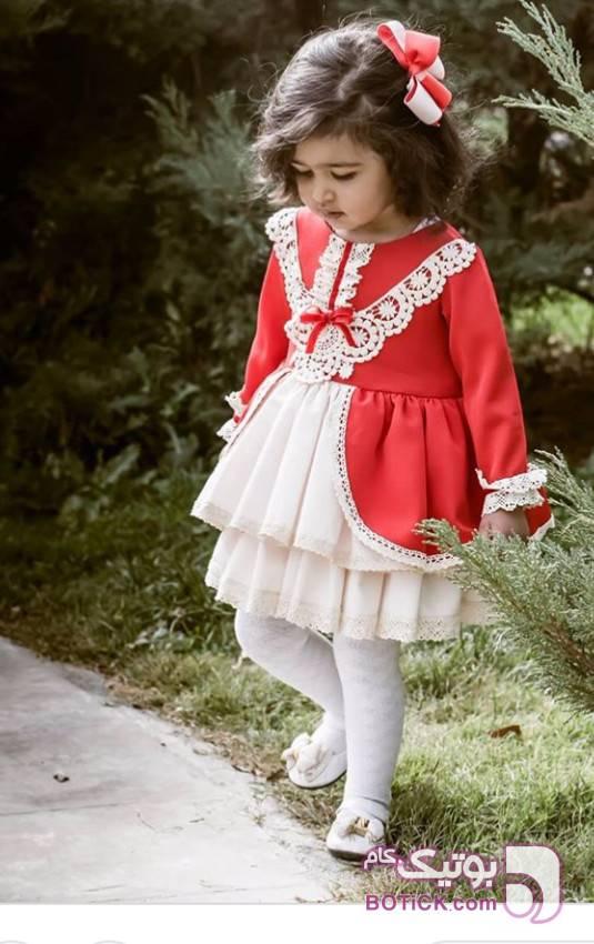 پیراهن مشکی لباس کودک دخترانه