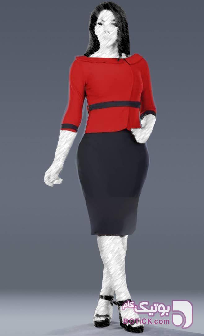 مجلسی مدل لاریسا آبی لباس  مجلسی