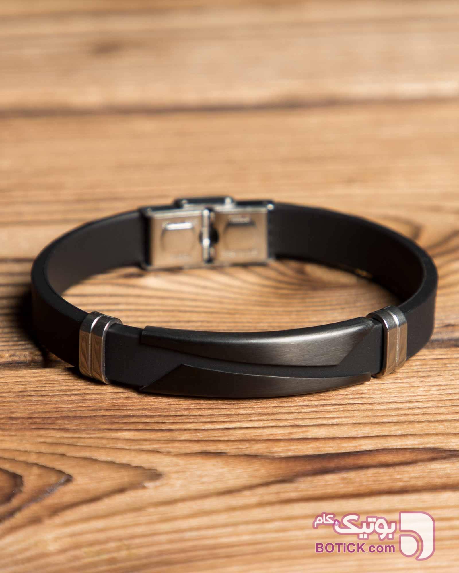 دستبند مشکی اسپرت مشکی دستبند و پابند