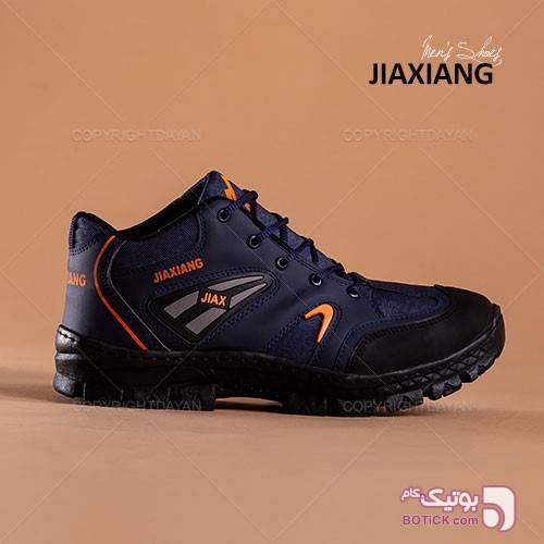 کفش مردانه Jiaxiang مدل K8800 (سرمه ای) سورمه ای كفش مردانه