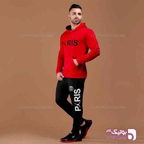 ست سویشرت و شلوار مردانه Paris مدل S7582 - ست ورزشی مردانه