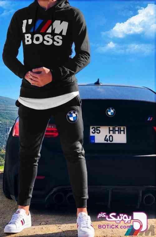 ست سوئیشرت و شلوار BMW - سوئیشرت و هودی مردانه