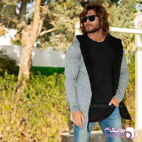 شنل خزدار مردانه Imaz مدل T7997 - سوئیشرت و هودی مردانه