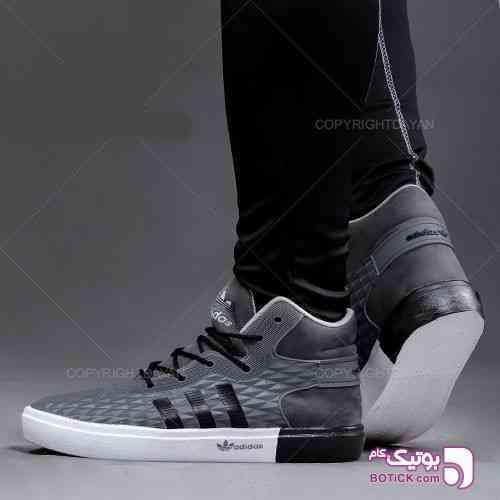 کفش ساقدار مردانه Adidas(خاکستری) - كفش مردانه