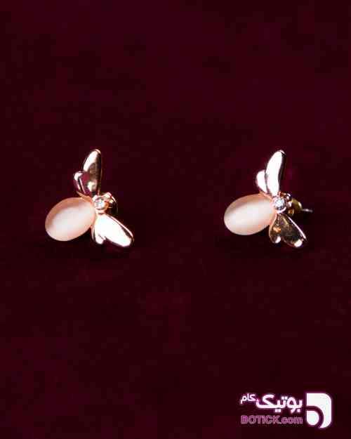 گوشواره دخترانه طرح زنبور کرم 97 2019
