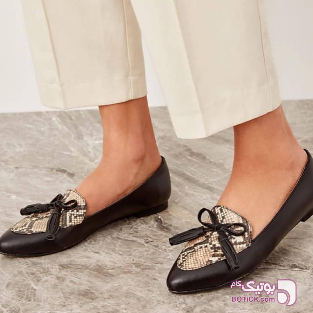 كفش مشکی كفش زنانه