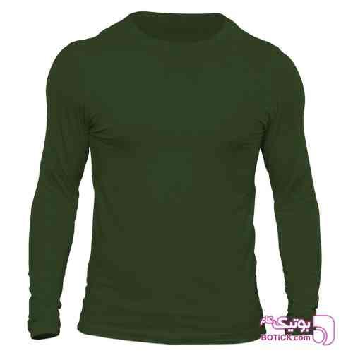تیشرت آستین بلند مردانه  - تی شرتو پولو شرت مردانه