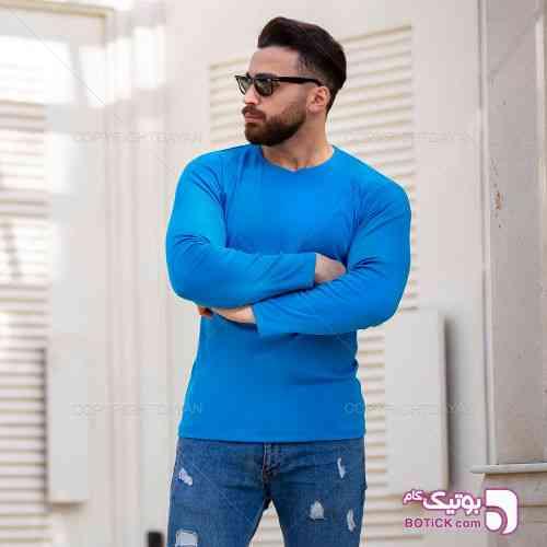 تیشرت آستین بلند مردانه Alvin مدل T9052 - تی شرتو پولو شرت مردانه