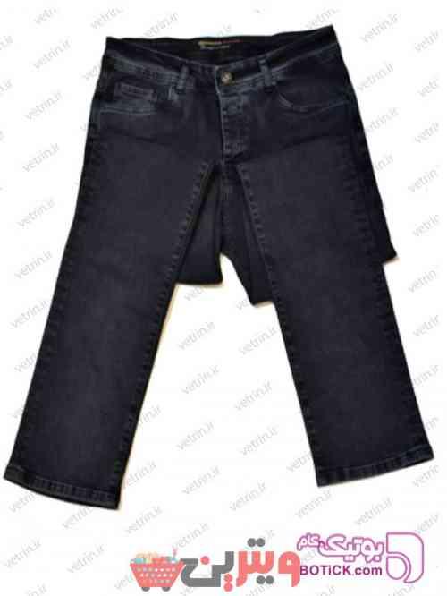 شلوار جین سایز بزرگ مردانه آبی 97 2019