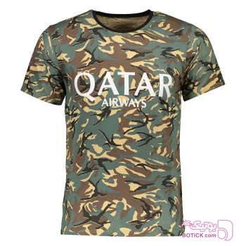 تیشرت ورزشی مردانه طرح چریکی مدل 1202 طوسی تی شرت و پولو شرت مردانه