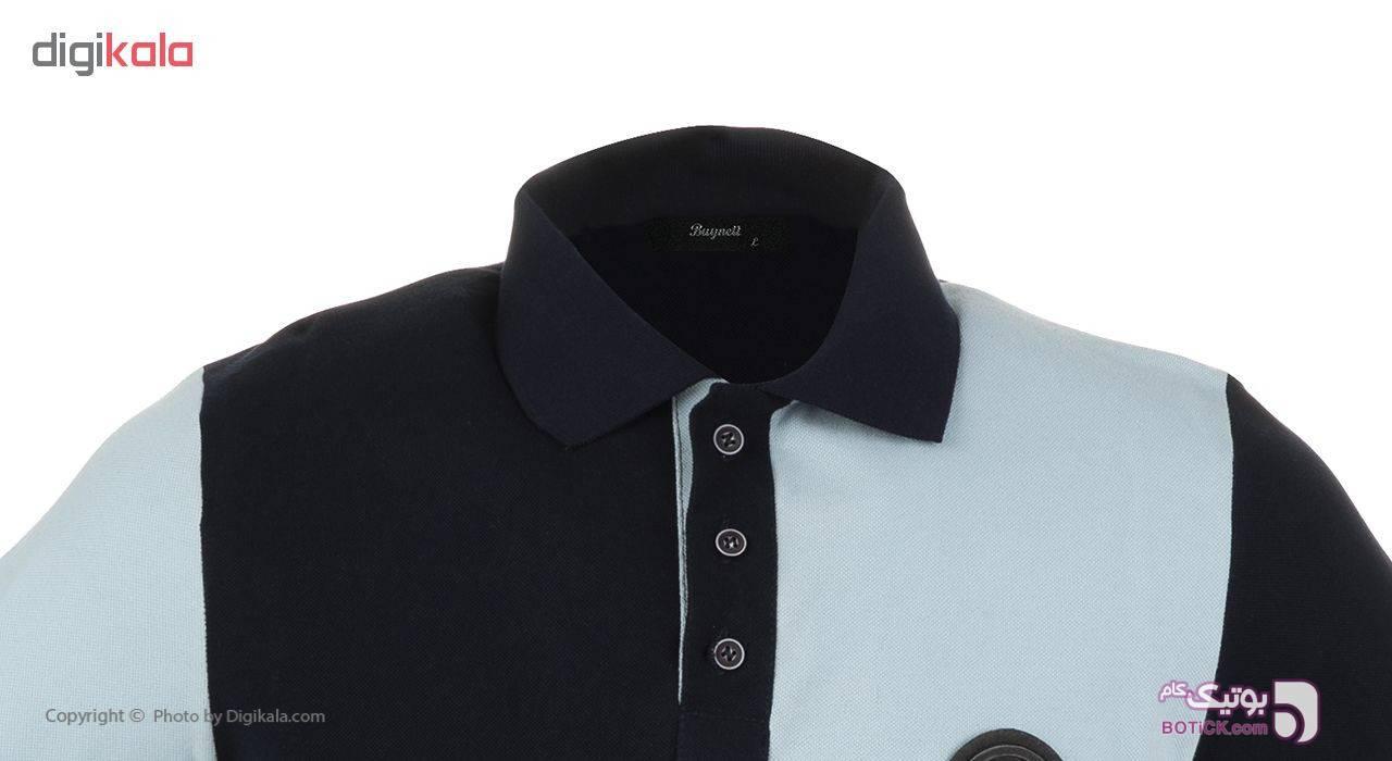 پولوشرت مردانه بای نت کد 283 آبی تی شرتو پولو شرت مردانه