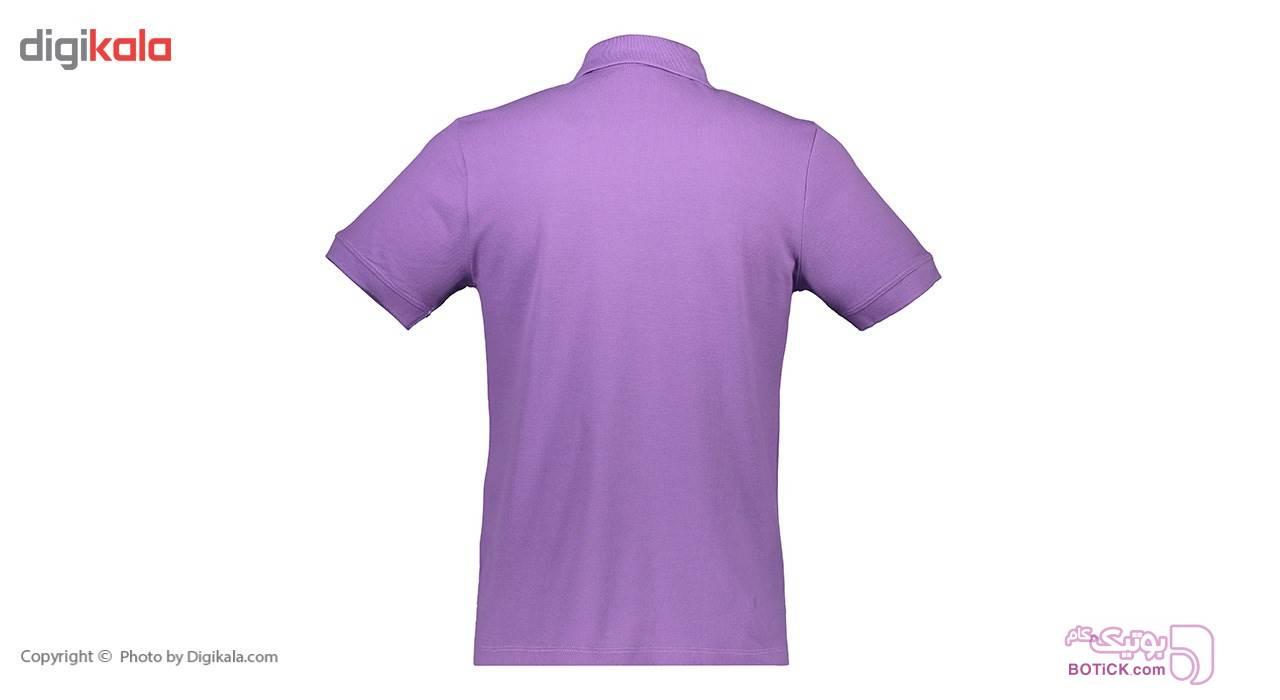 پولوشرت مردانه ناوالس مدلPO11VT بنفش تی شرت و پولو شرت مردانه