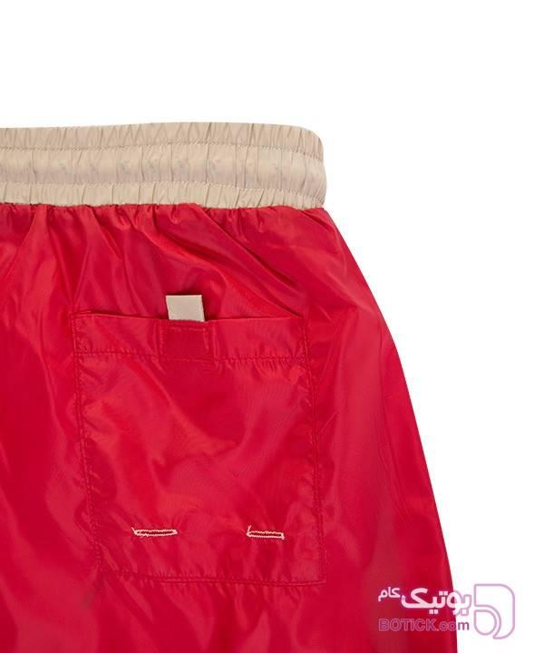 مایو مردانه جوتی جینز Jooti Jeans قرمز شلوارک مردانه