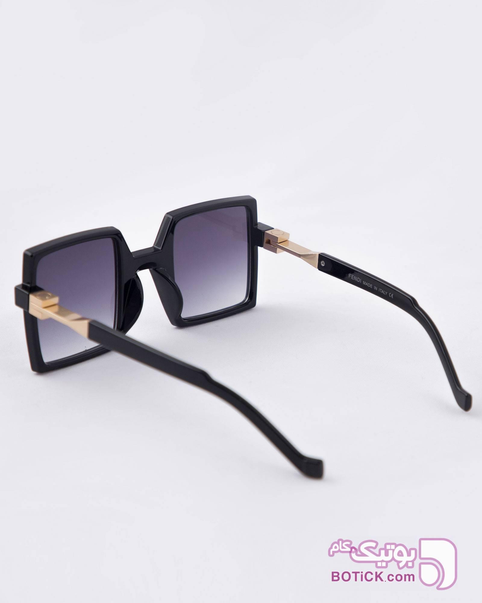 عینک آفتابی مربعی زنانه مشکی مشکی عینک آفتابی