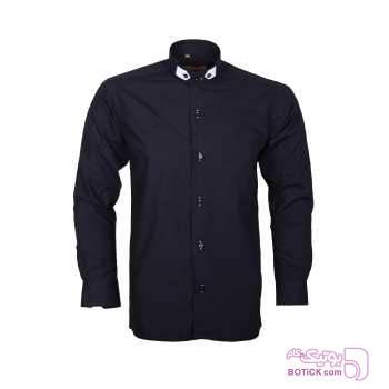 پیراهن مردانه کانتوس مدل KP7172 سورمه ای پيراهن مردانه