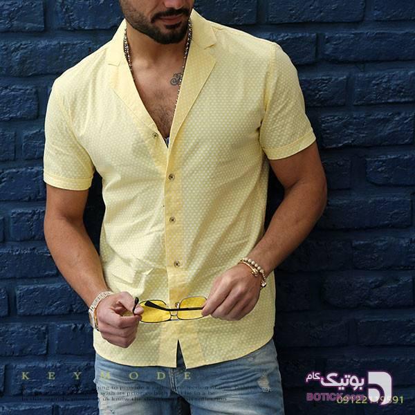 پیراهن زرد پيراهن مردانه