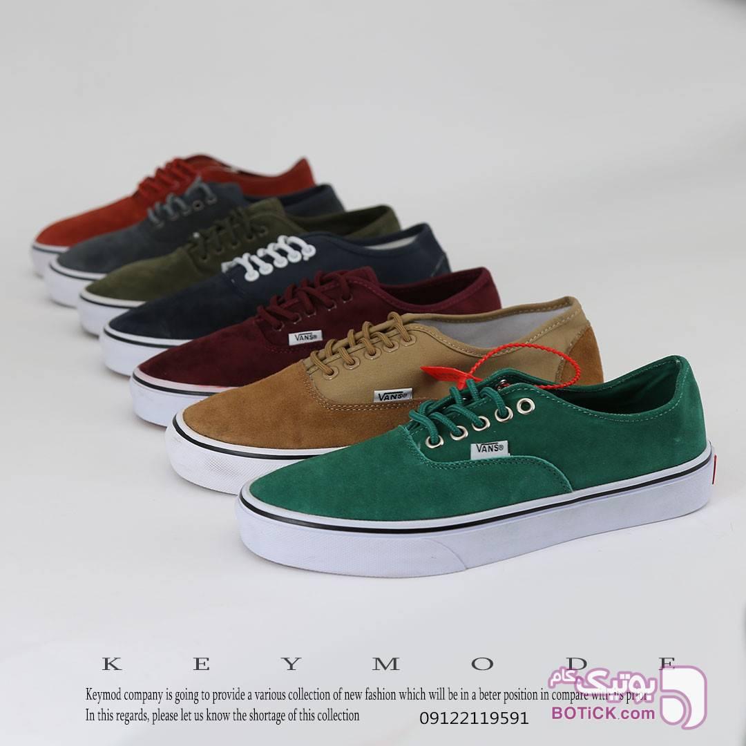 کفش سبز كتانی مردانه