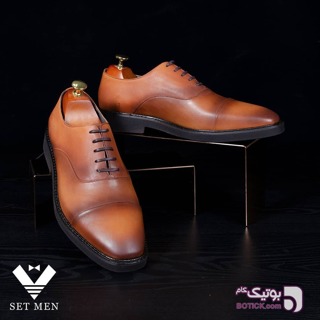 کفش  قهوه ای كفش مردانه