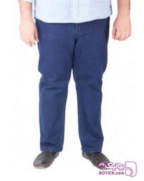 شلوار جین مردانه آبی سایز بزرگ سورمه ای 98 2019