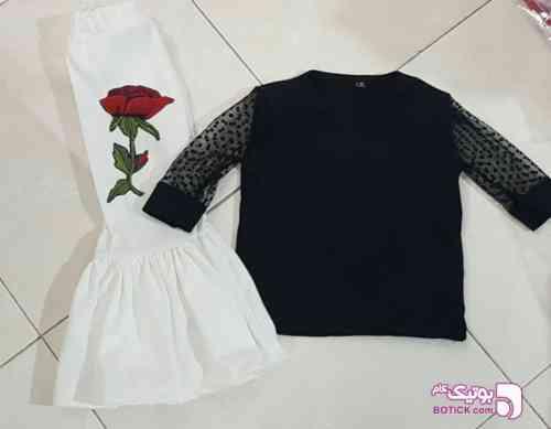 تاپ و شلوار دخترانه - لباس کودک دخترانه