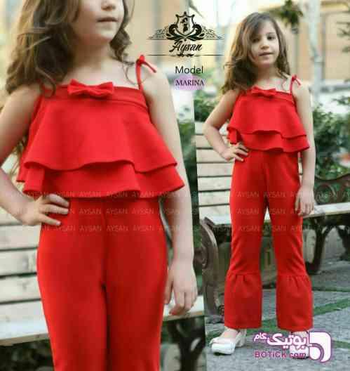 سرهمی بچگانه مارینا - لباس کودک دخترانه
