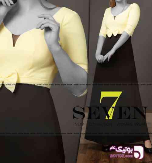 لباس مجلسی مدل ناجیلا بلند - لباس  مجلسی