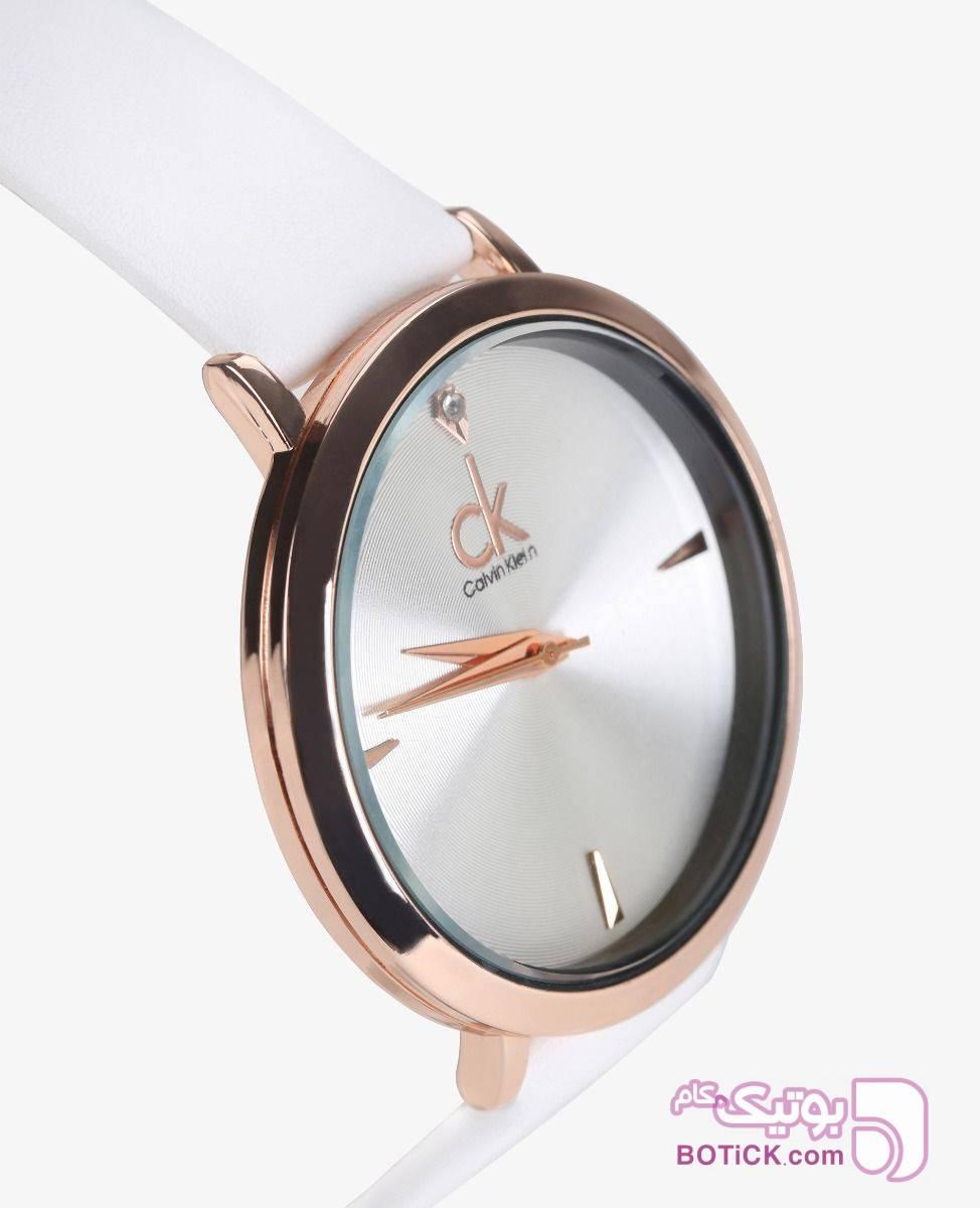ساعت مچی عقربه ای زنانه CK مدل 8100 مشکی ساعت