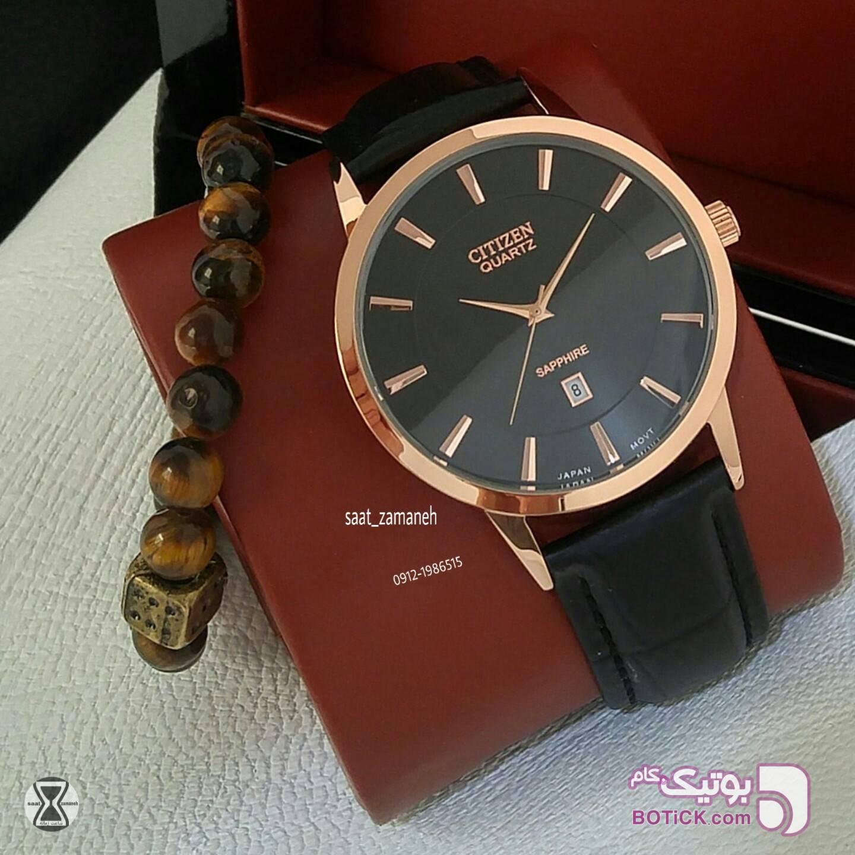 CITIZEN مردانه مشکی ساعت