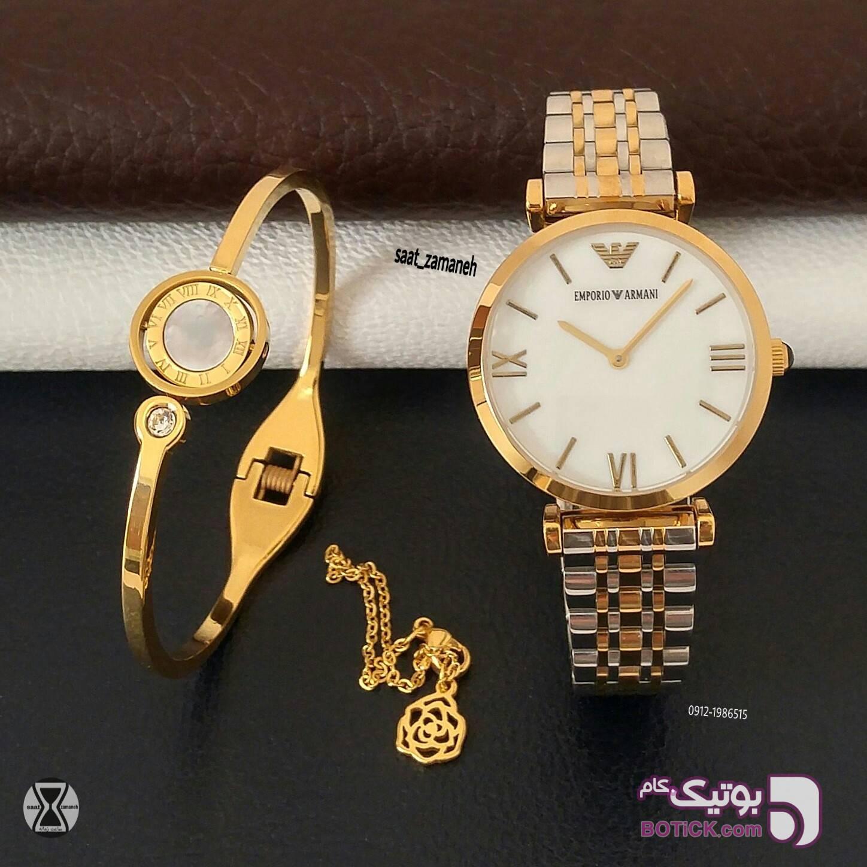 EMPORIO ARMANI زنانه زرد ساعت