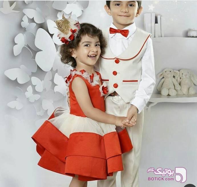 ست خواهر برادری سبز لباس کودک دخترانه