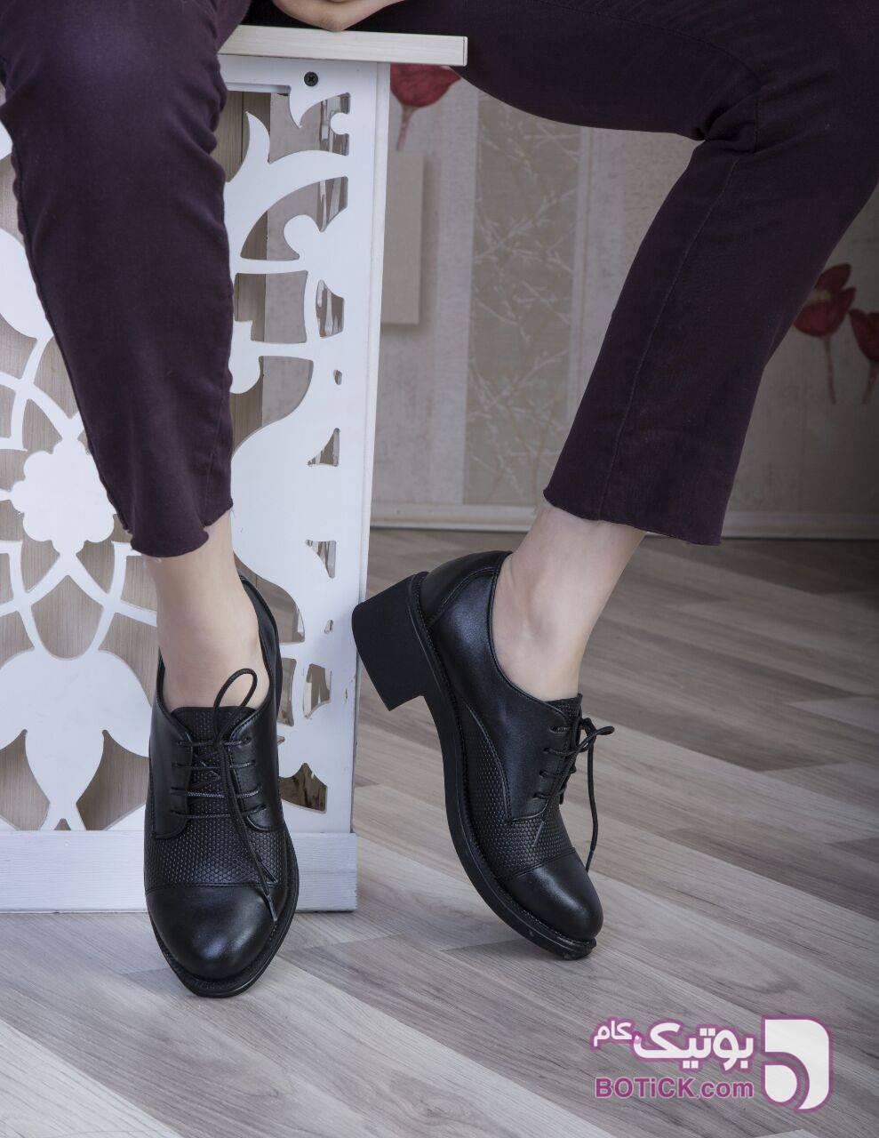 کفش شیک ویژه دانشجو کد۴۸۲ مشکی كفش زنانه