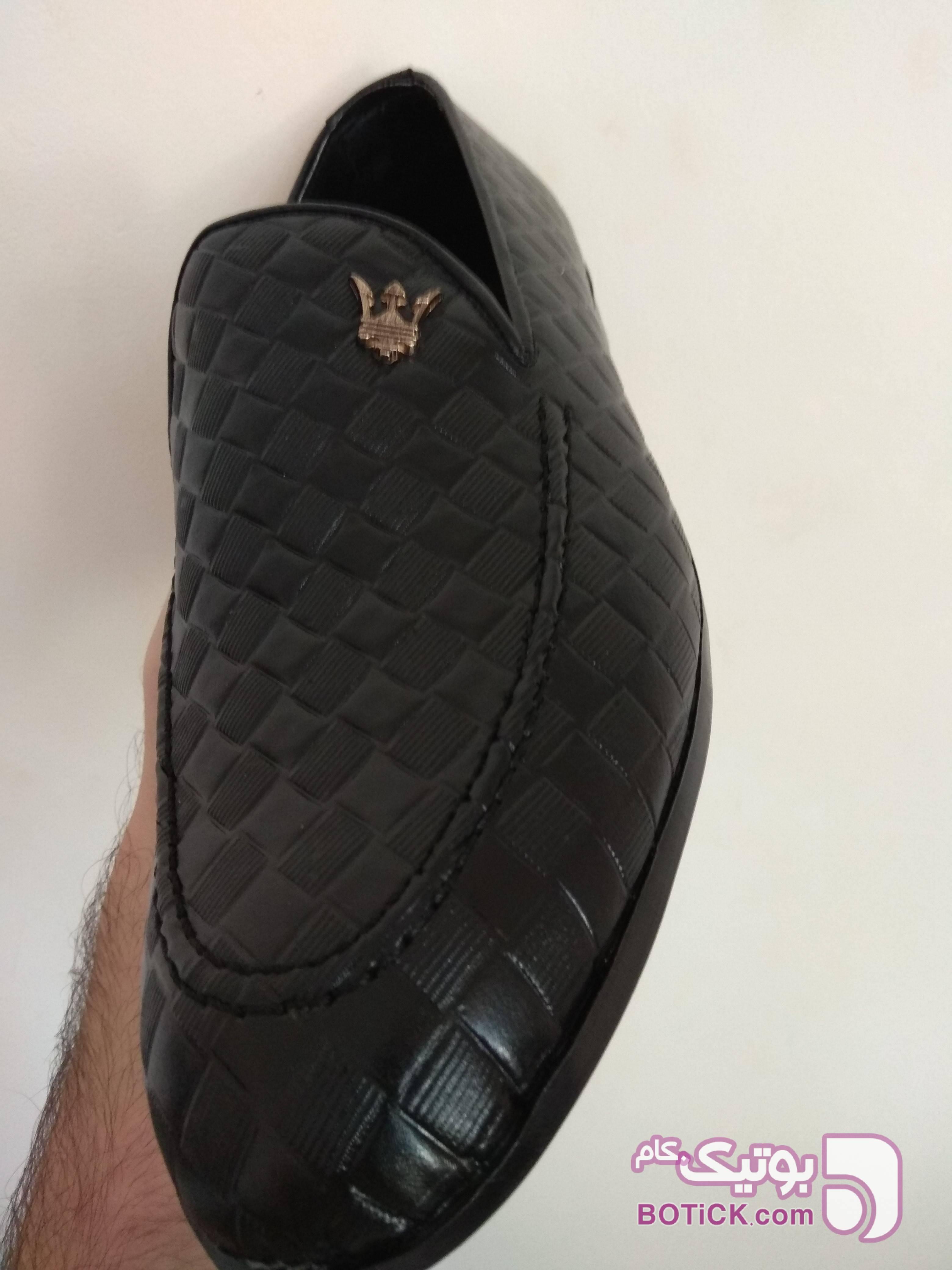 کفش مشبک شیک مردانه مشکی كفش مردانه