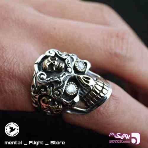 Skull ring - انگشتر
