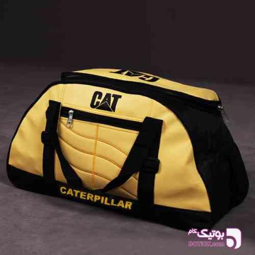 ساک ورزشی CAT مدل Dufila زرد 98 2019