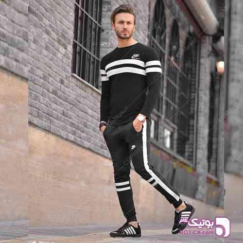 ست تيشرت وشلوار مدل SEVIN - ست ورزشی مردانه