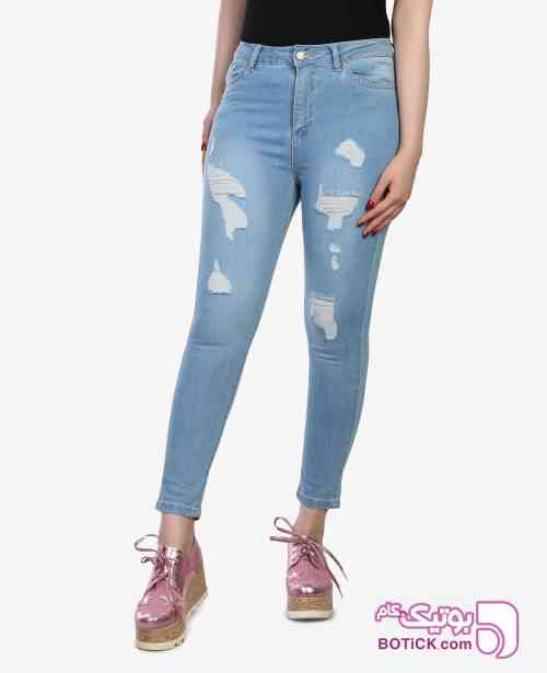 شلوار جین زنانه Levure مدل 3134  - شلوار زنانه