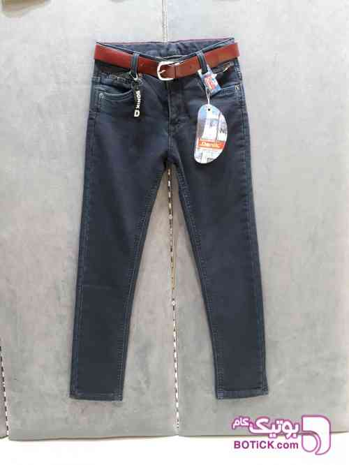 شلوار جین کش پشت حوله ای : 95/110 - لباس کودک پسرانه