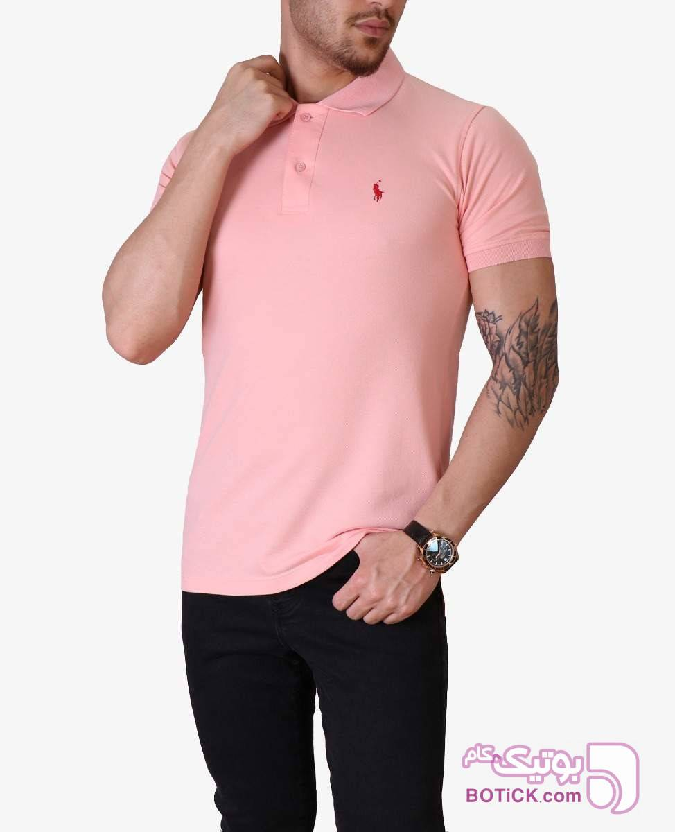 پلوشرت مردانه POLO کد 4773 زرد تی شرتو پولو شرت مردانه