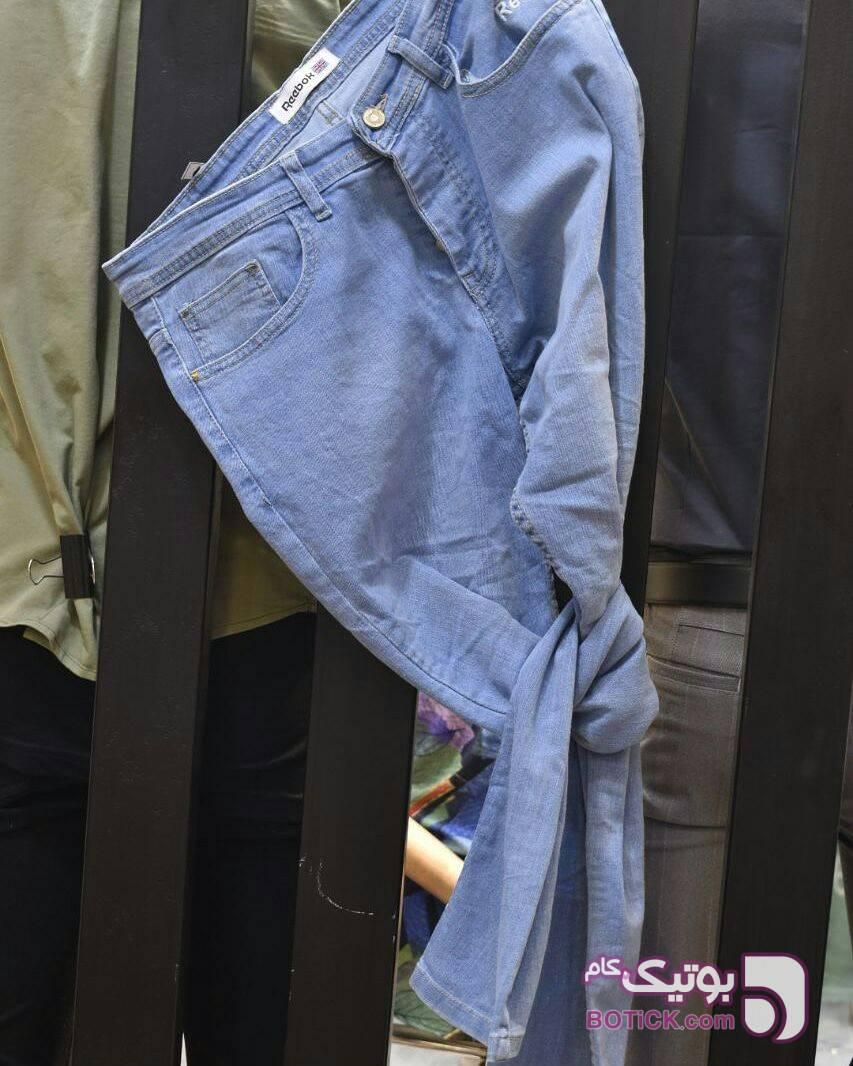 شلوار جین  مشکی شلوار مردانه