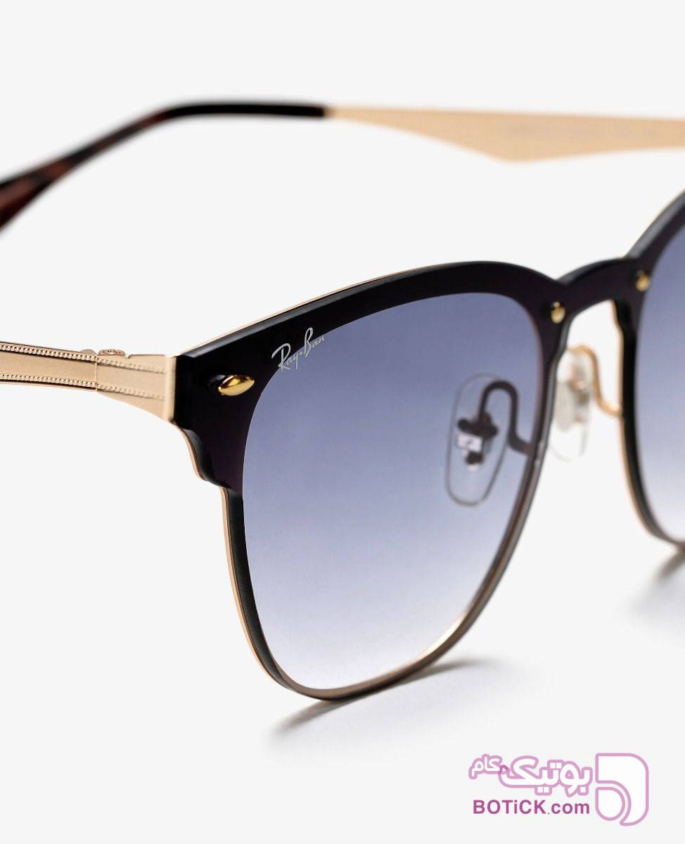عینک آفتابی BLAZE مدل RB3576 طلایی عینک آفتابی