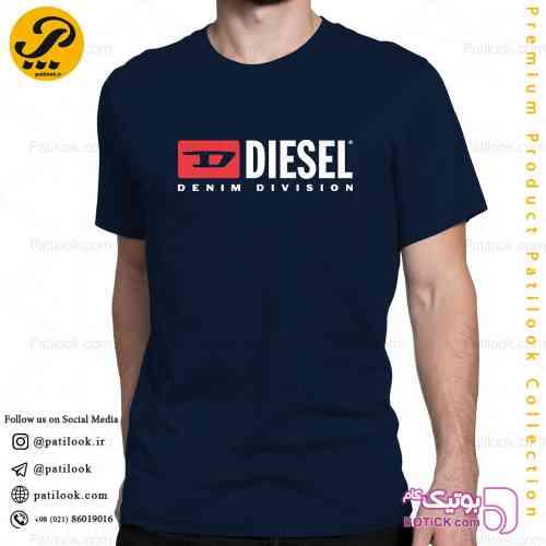 تیشرت مردانه پاتیلوک طرح Diesel - تی شرتو پولو شرت مردانه