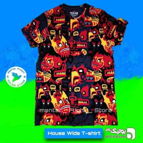 House Wide T-shirt - تی شرتو پولو شرت مردانه
